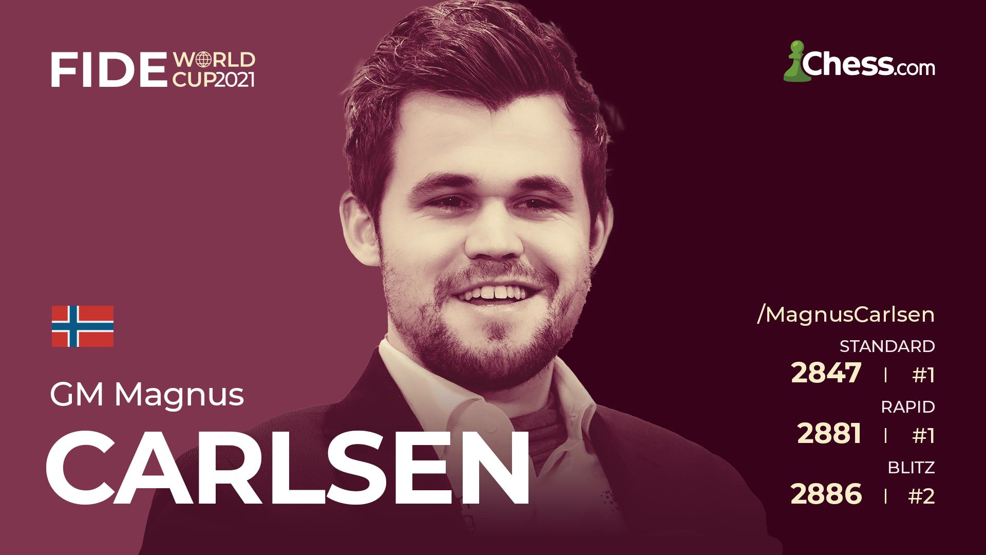 Magnus Carlsen 2021 FIDE World Cup