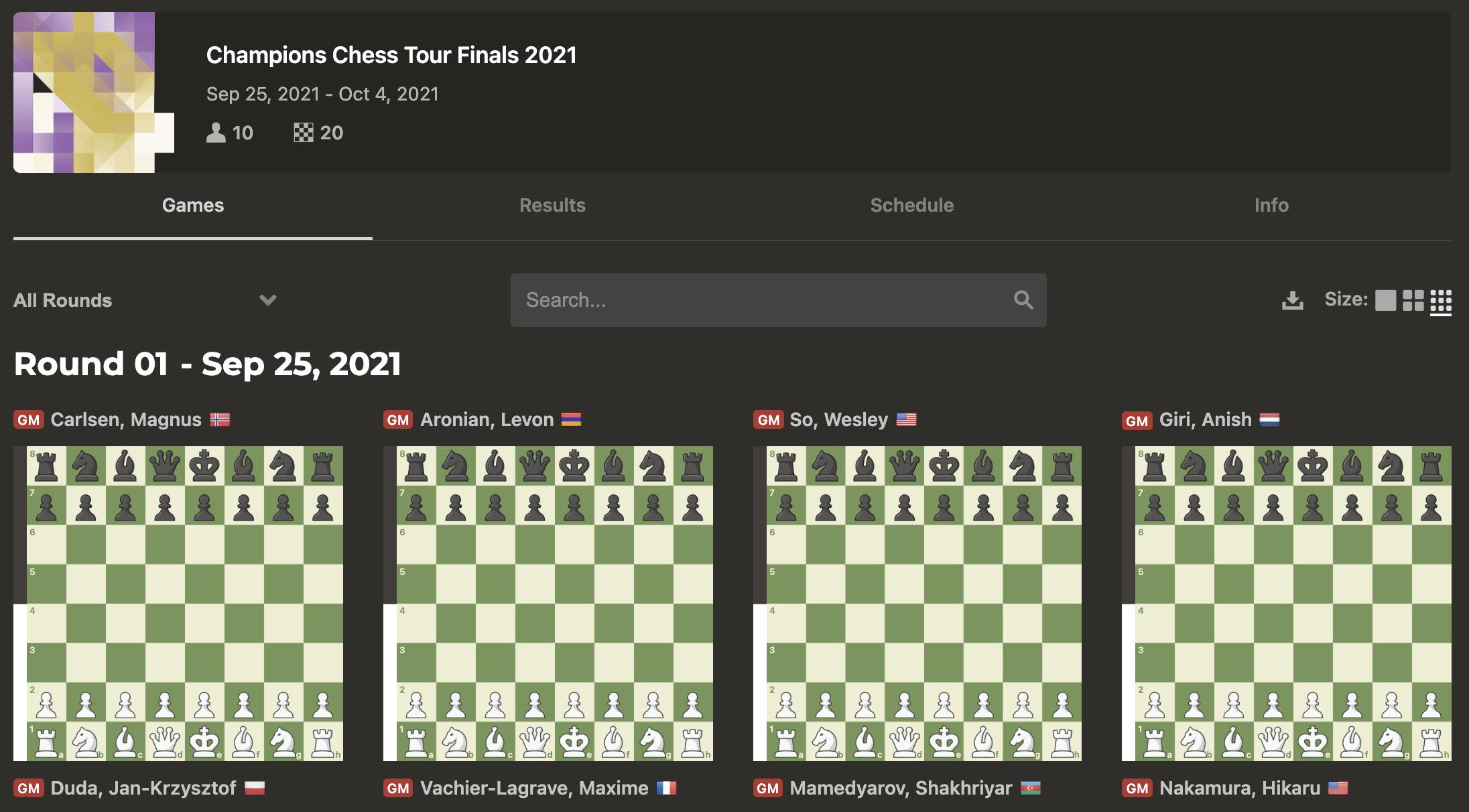 Τελικός Champions Chess Tour 2021