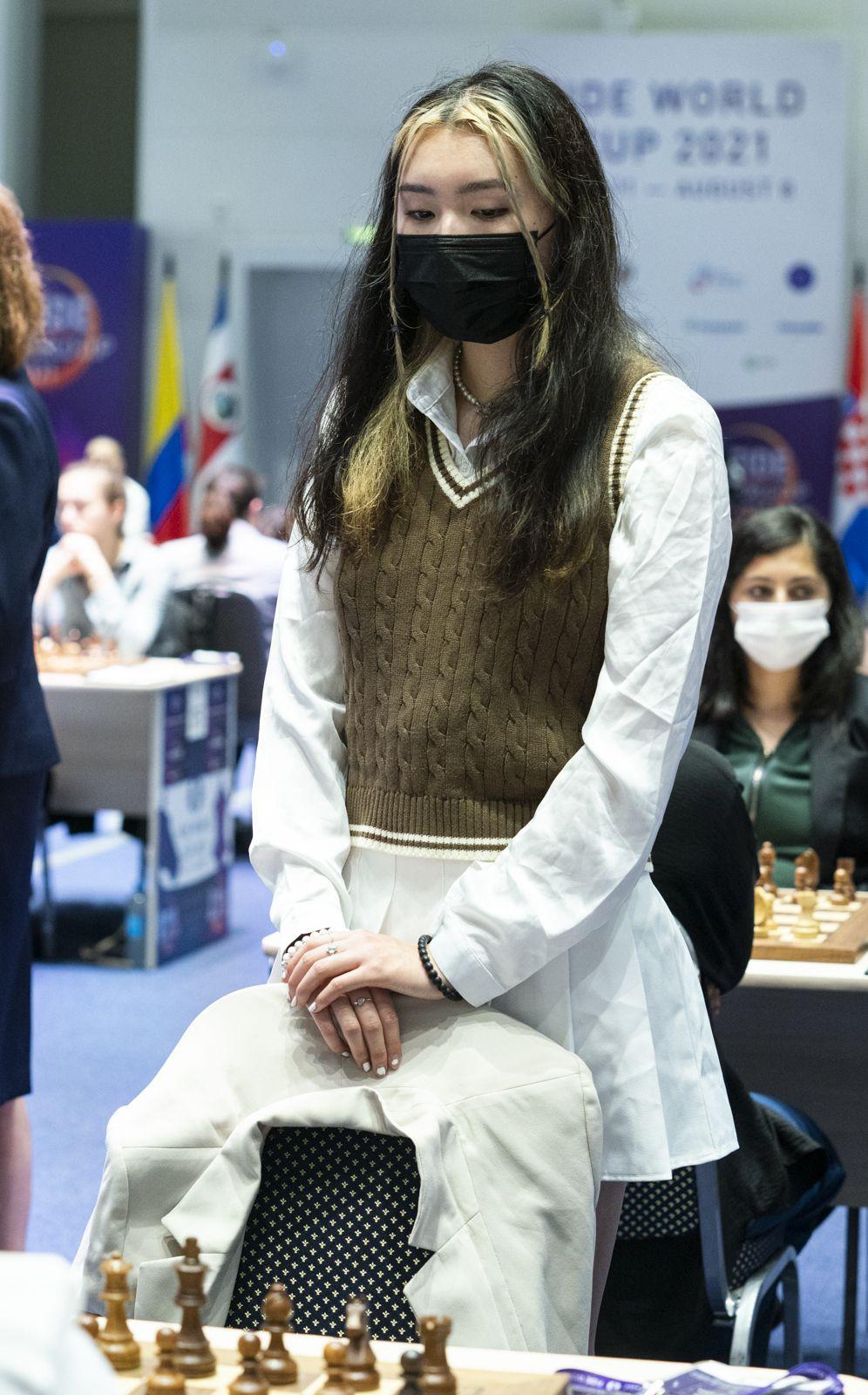Jennifer Yu la șah