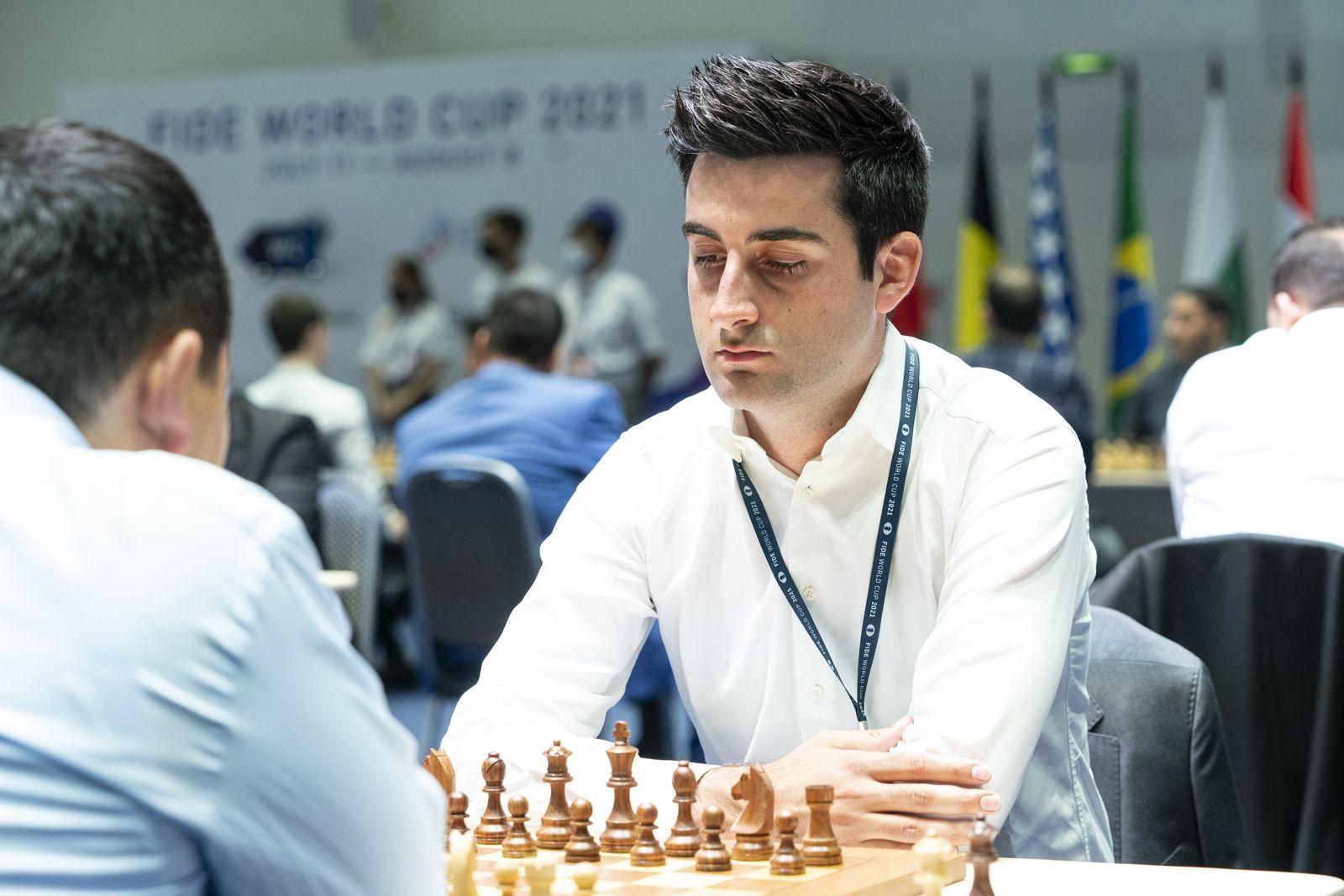 Benjamin Salute la șah