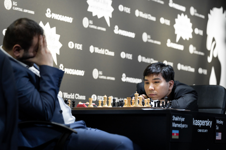 Riga Grand Prix: Mamedyarov Lone Winner On Day 1 Semifinals