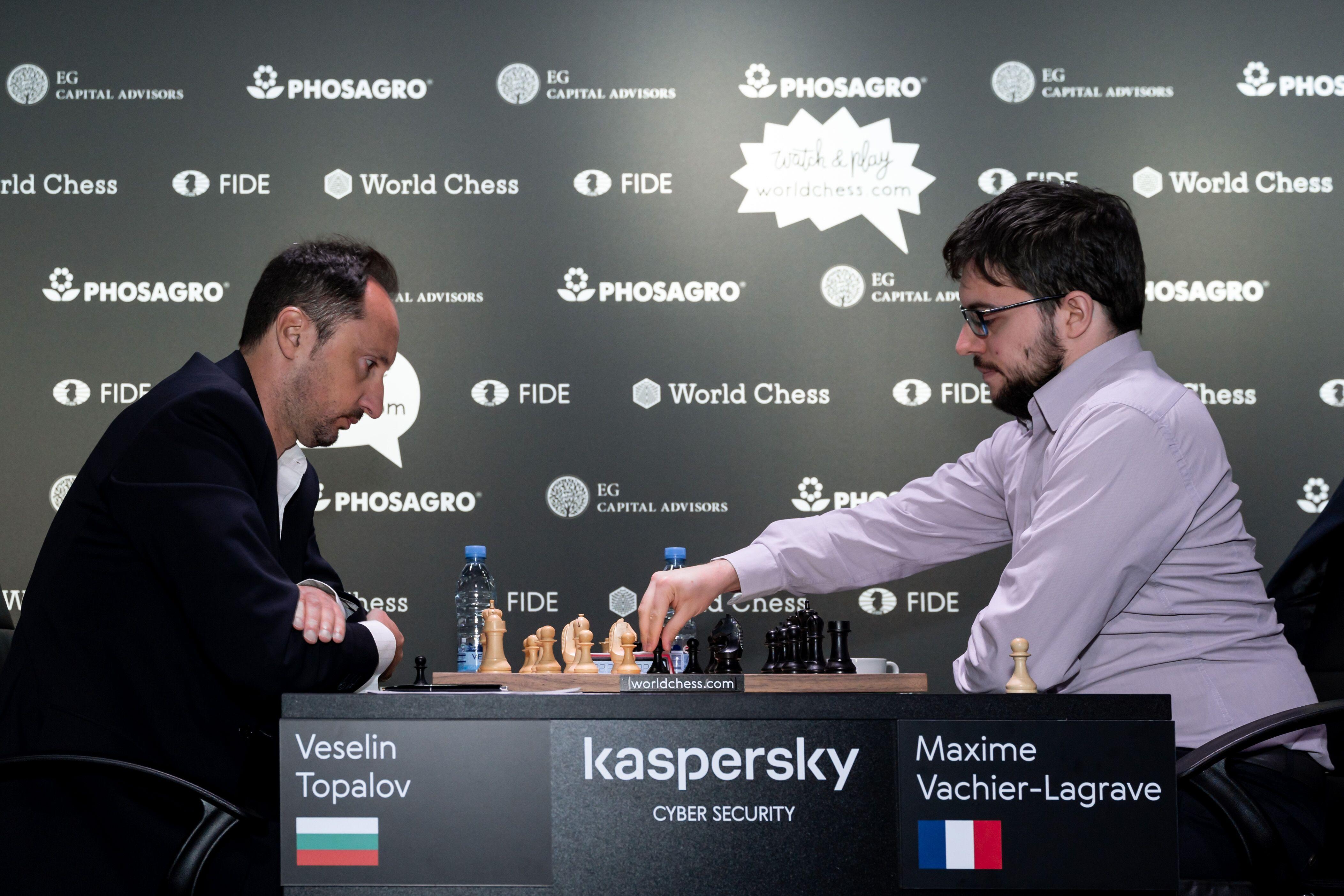 Riga Grand Prix: Vachier-Lagrave Only Winner Round 2, Day 1