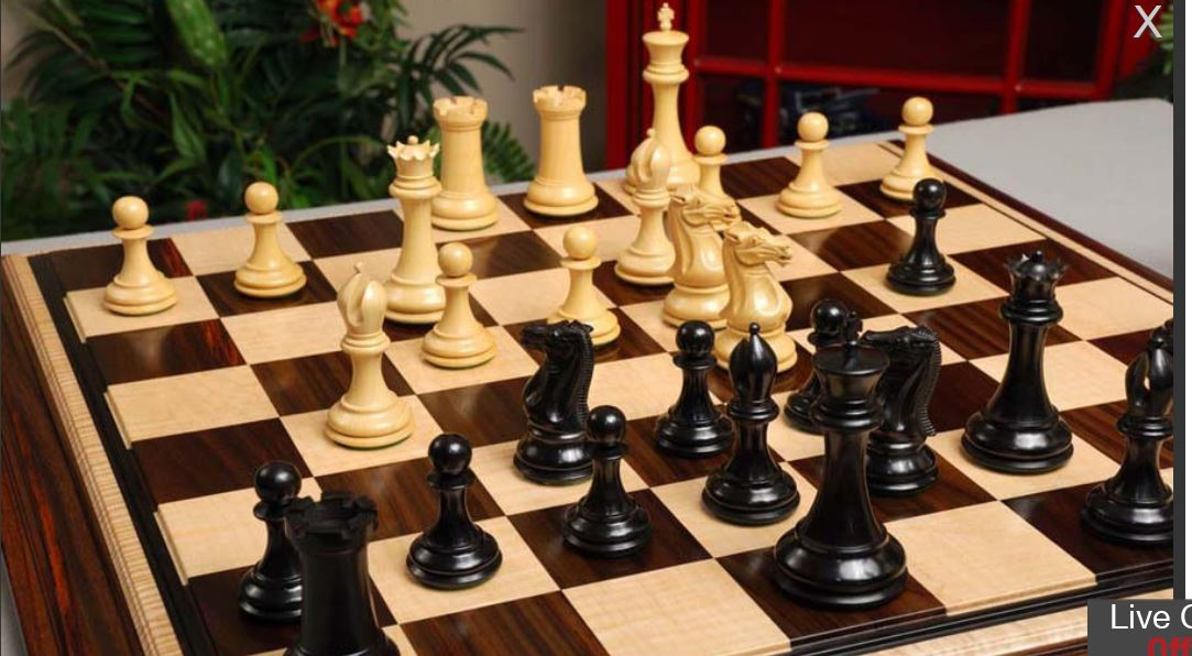 Reproduction and Real Jaques of London Chess Set - Chess