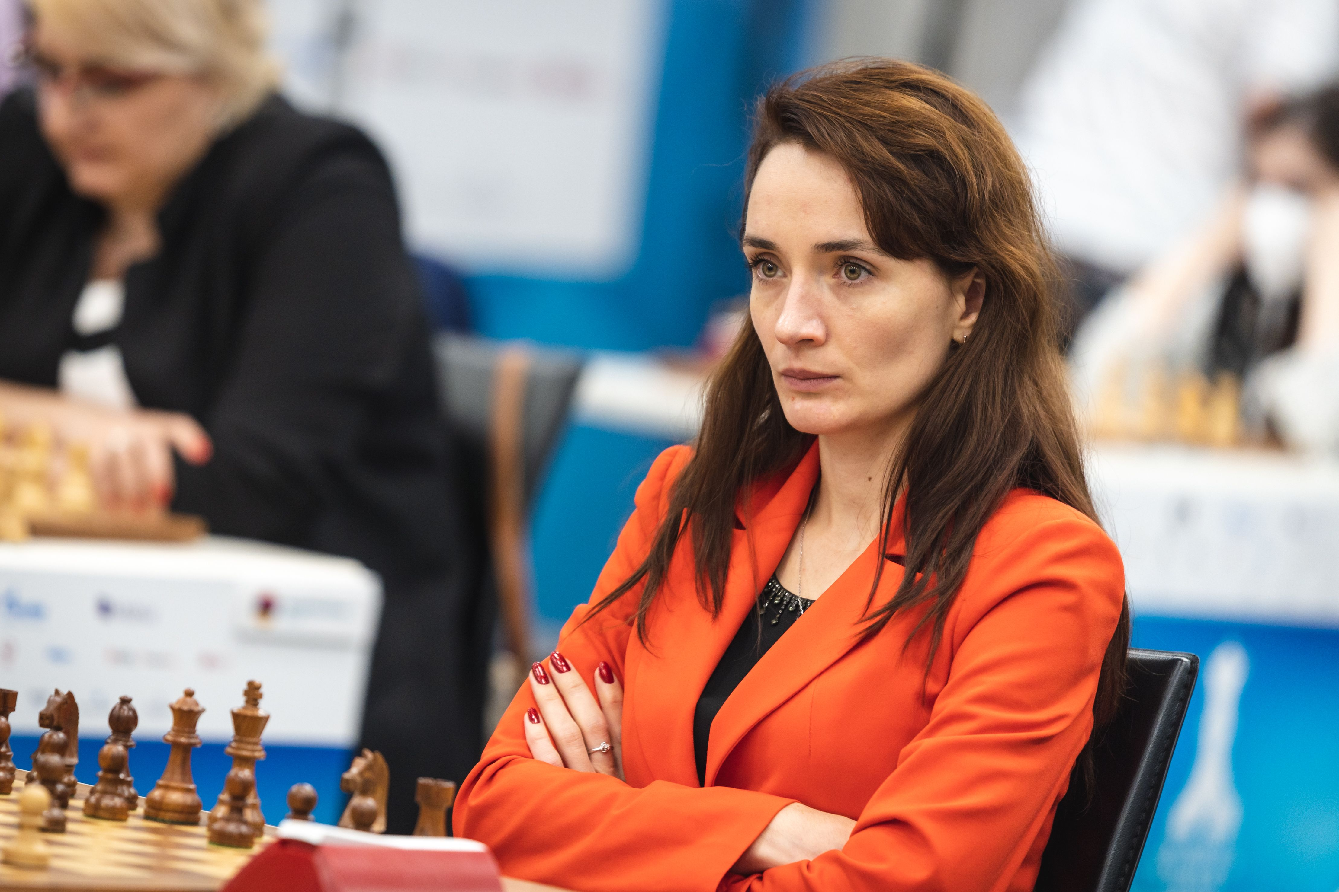 General Manager Kateryna Lagno of Russia at the Women's World Team Championship