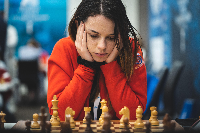 IM Marta Garcia of Spain at the Women's World Team Championship