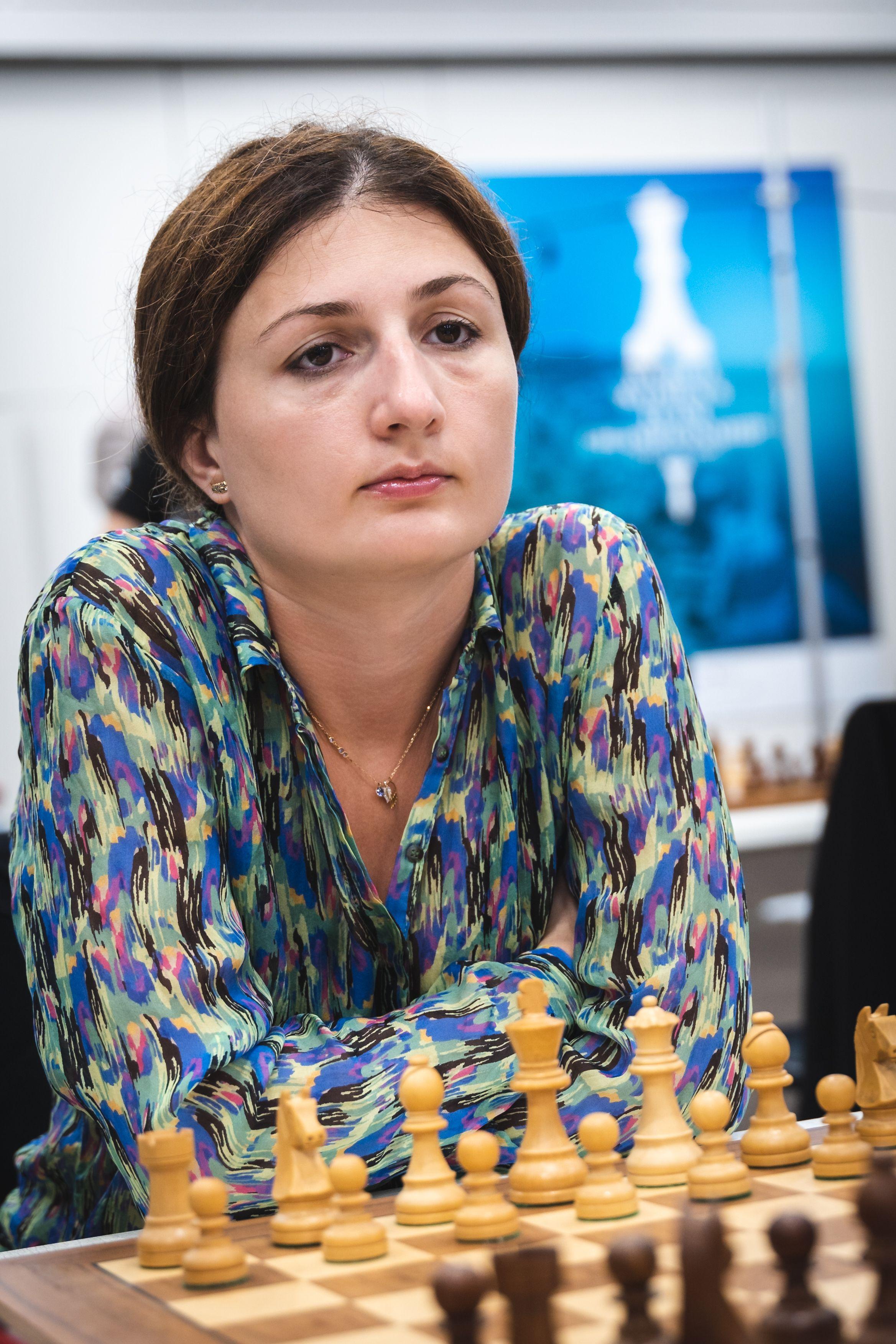 Гроссмейстер Грузии Нино Падиашвили на командном чемпионате мира среди женщин