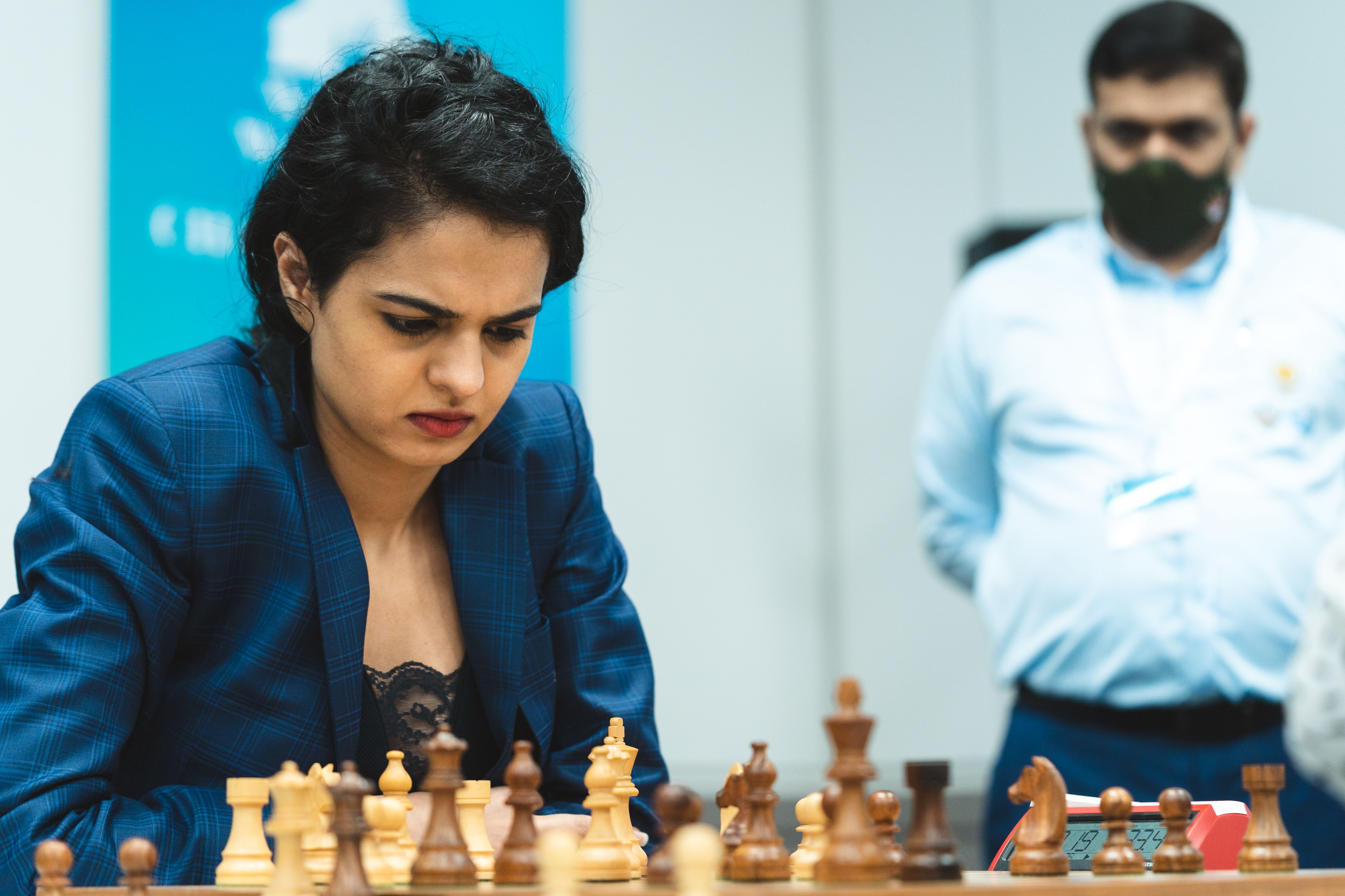 WGM Tania Sachdev at the Women's World Team Championship