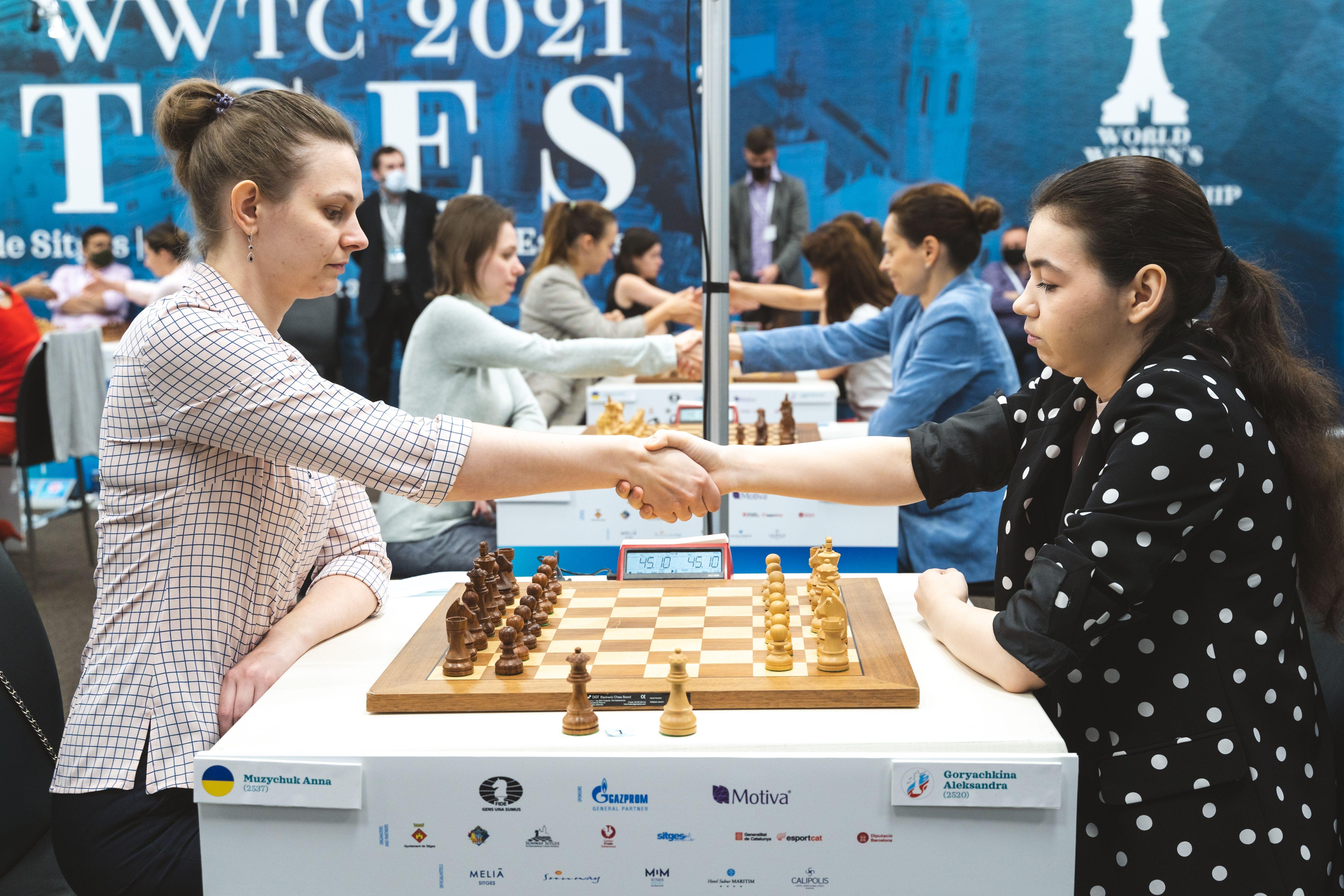 Russia vs Ukraine semi-final begins at the Women's World Team Championship