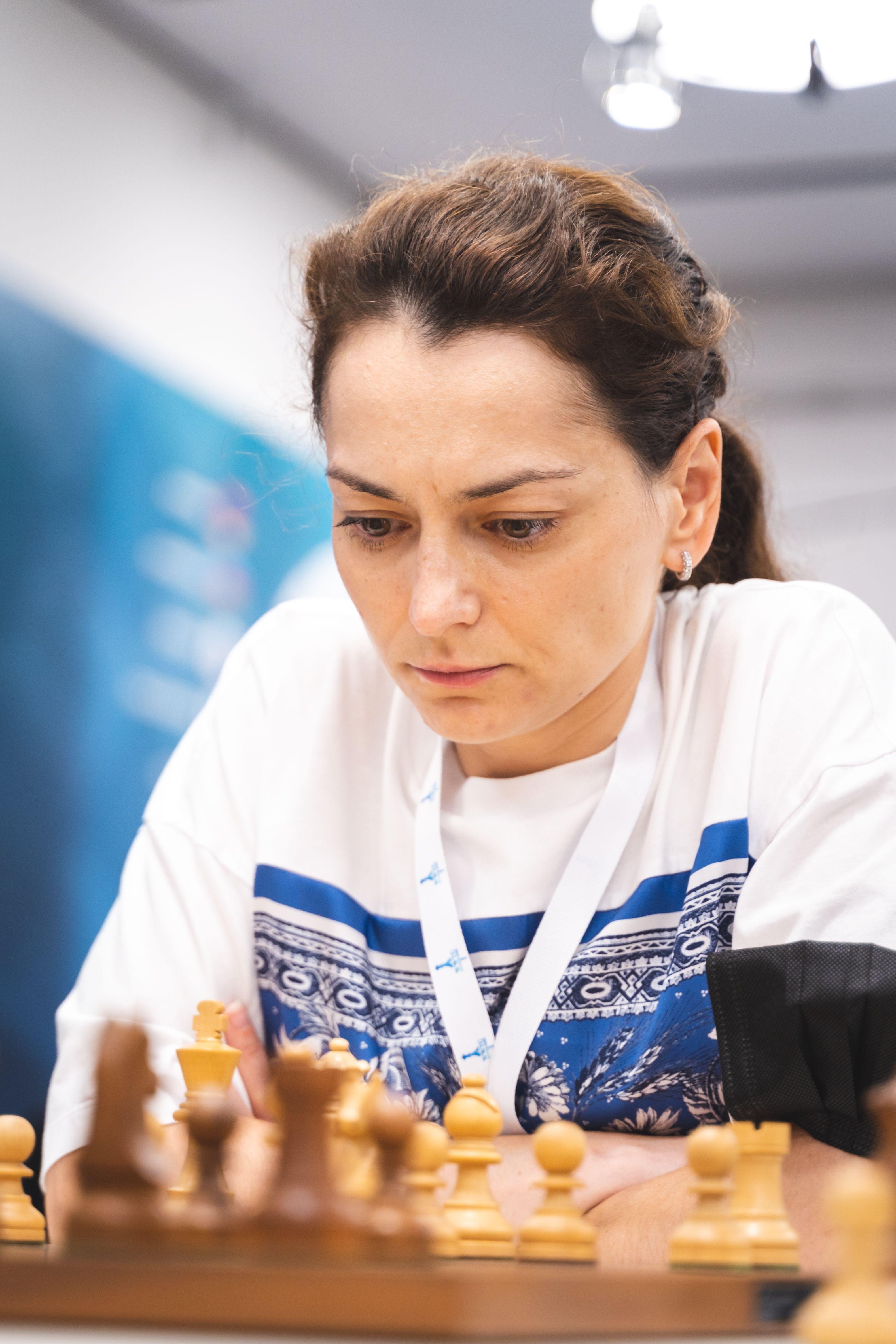 Российская гроссмейстер Александра Костенюк на чемпионате мира среди женщин