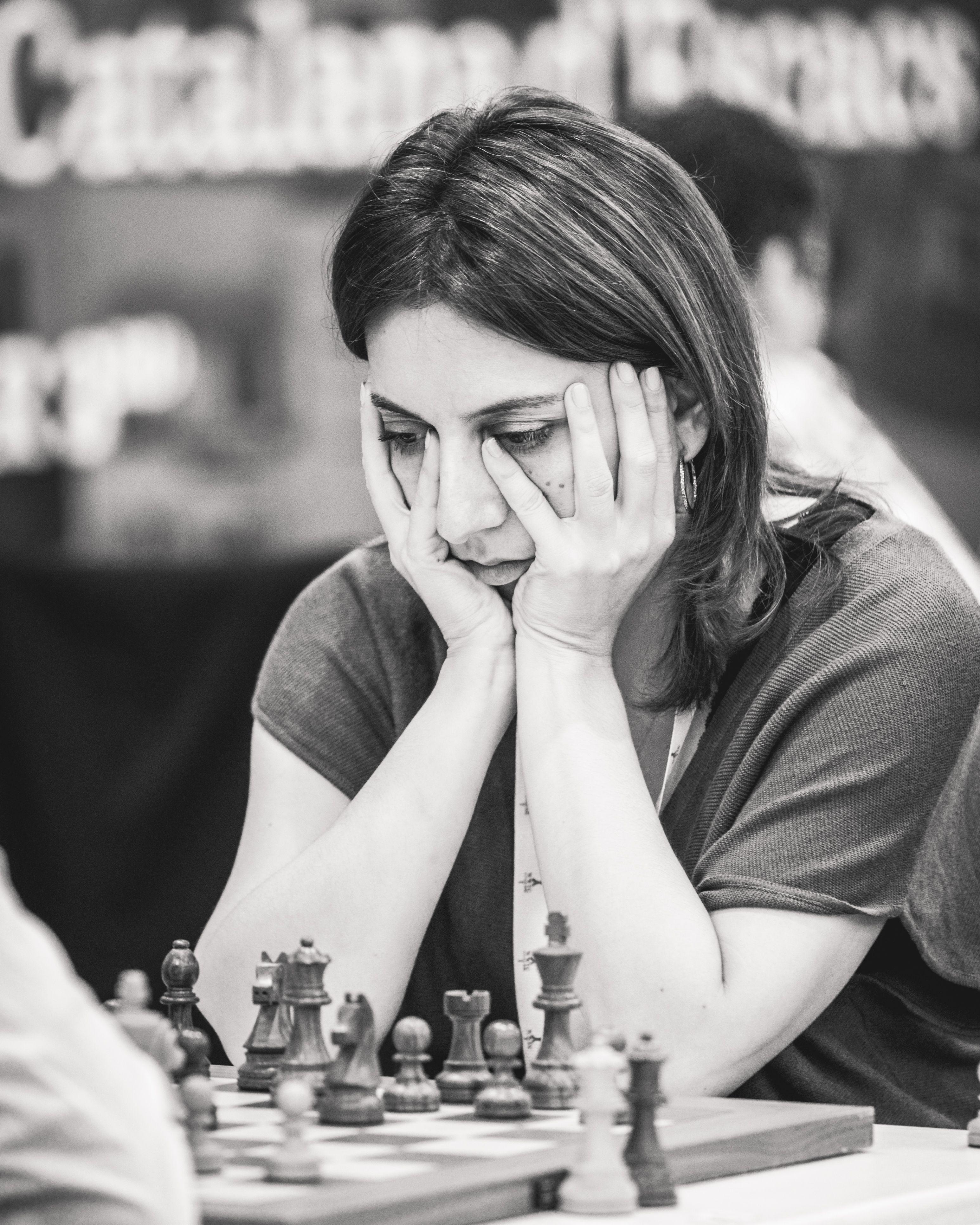 IM Грузии Лила Джавакишвили на командном чемпионате мира среди женщин