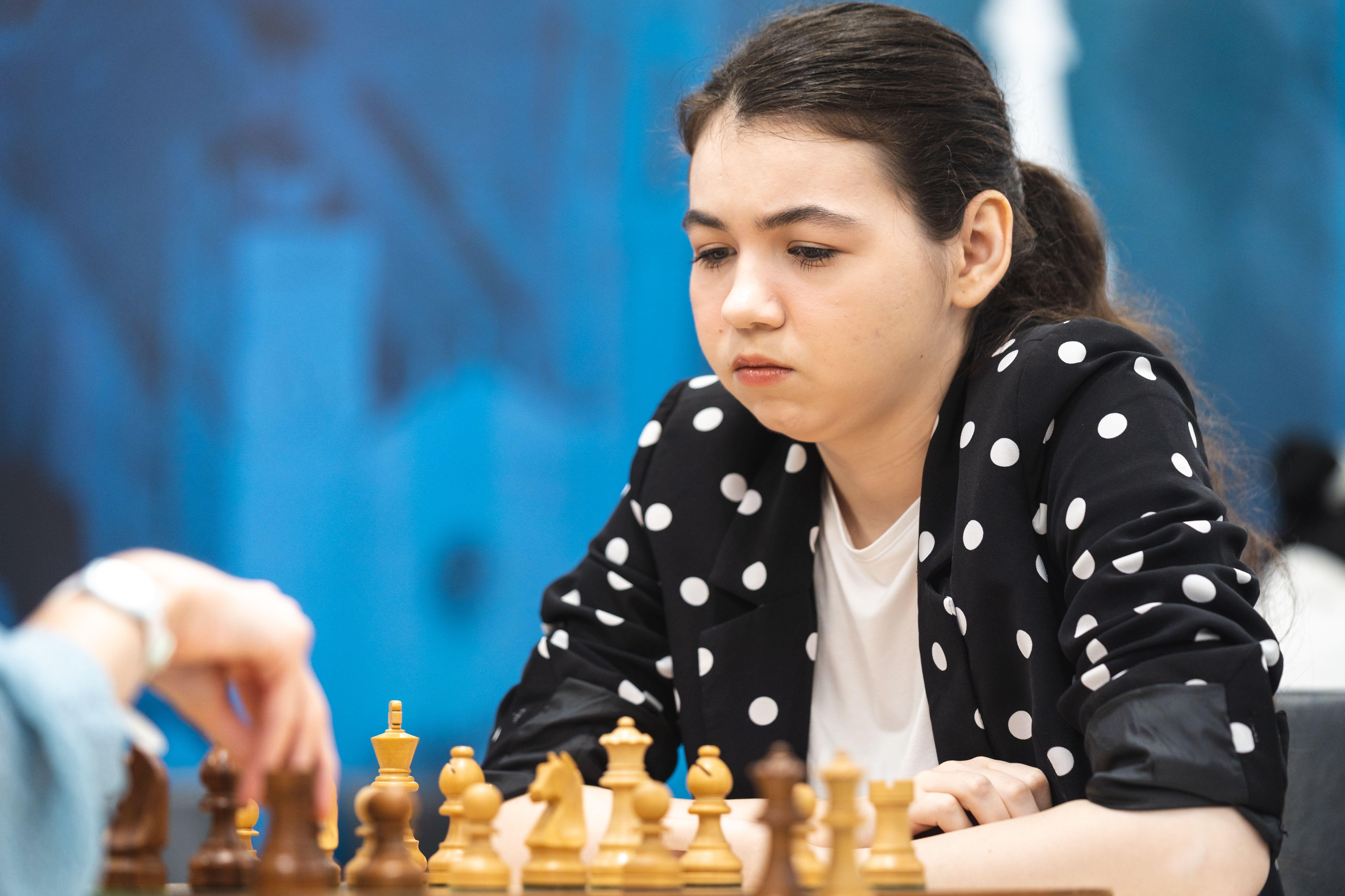 General Manager Aleksandra Goryachkina at the Women's World Team Championship