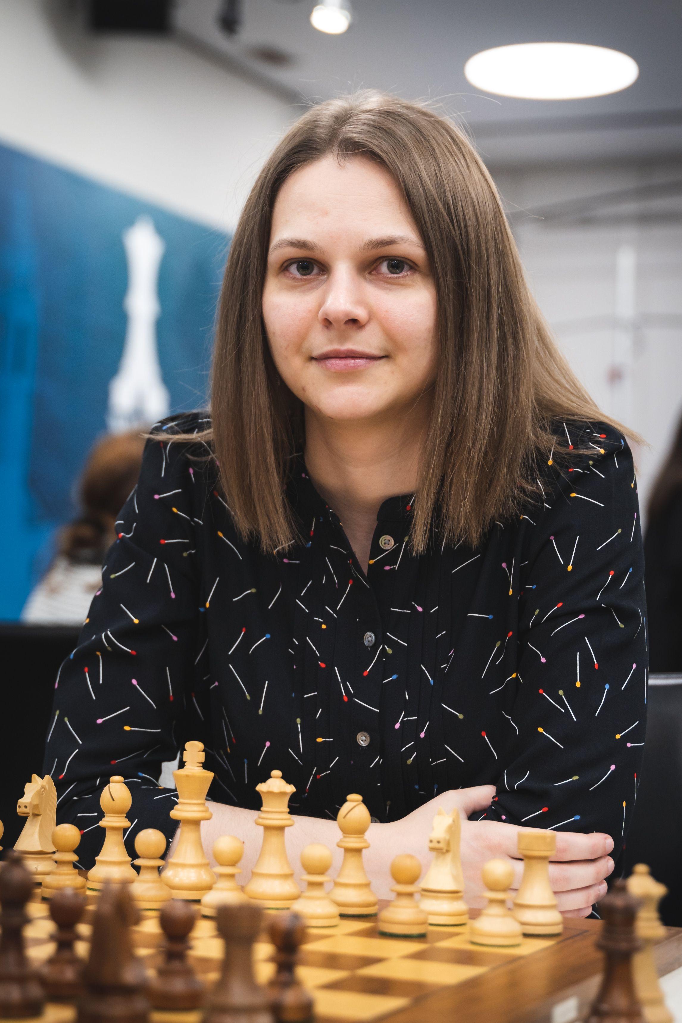 Ukraine's General Manager Anna Muzychuk at the Women's World Team Championship
