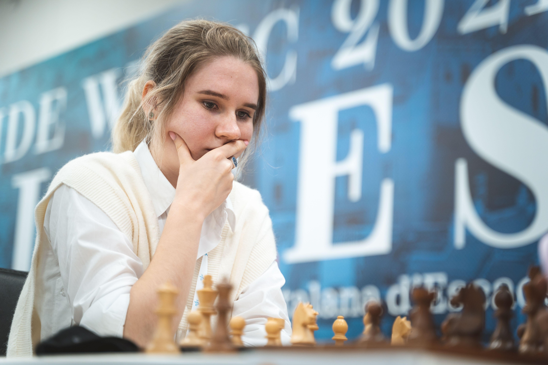 Россиянка Полина Шувалова на командном чемпионате мира среди женщин