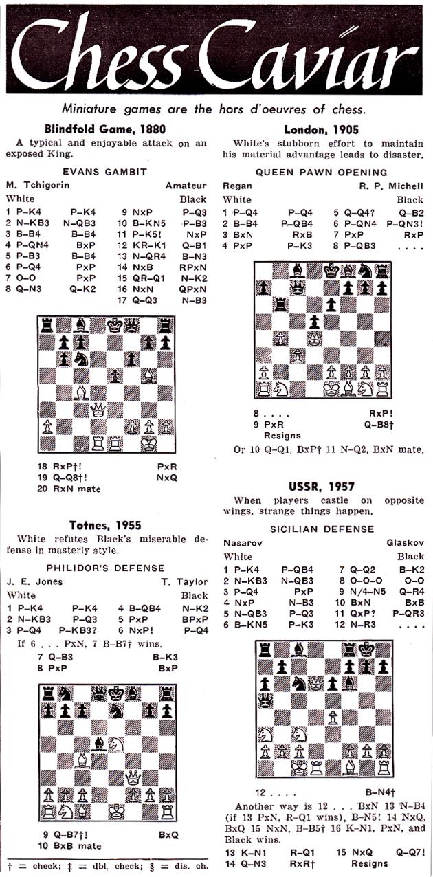Chess Caviar