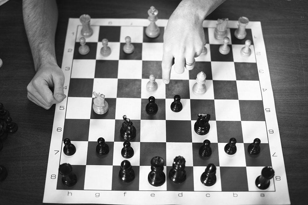 Analizar partidas ajedrez
