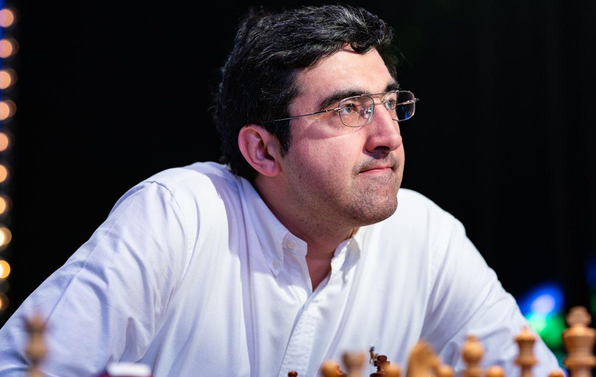 Vladimir Kramnik. Photo: Maria Emelianova / Chess.com.