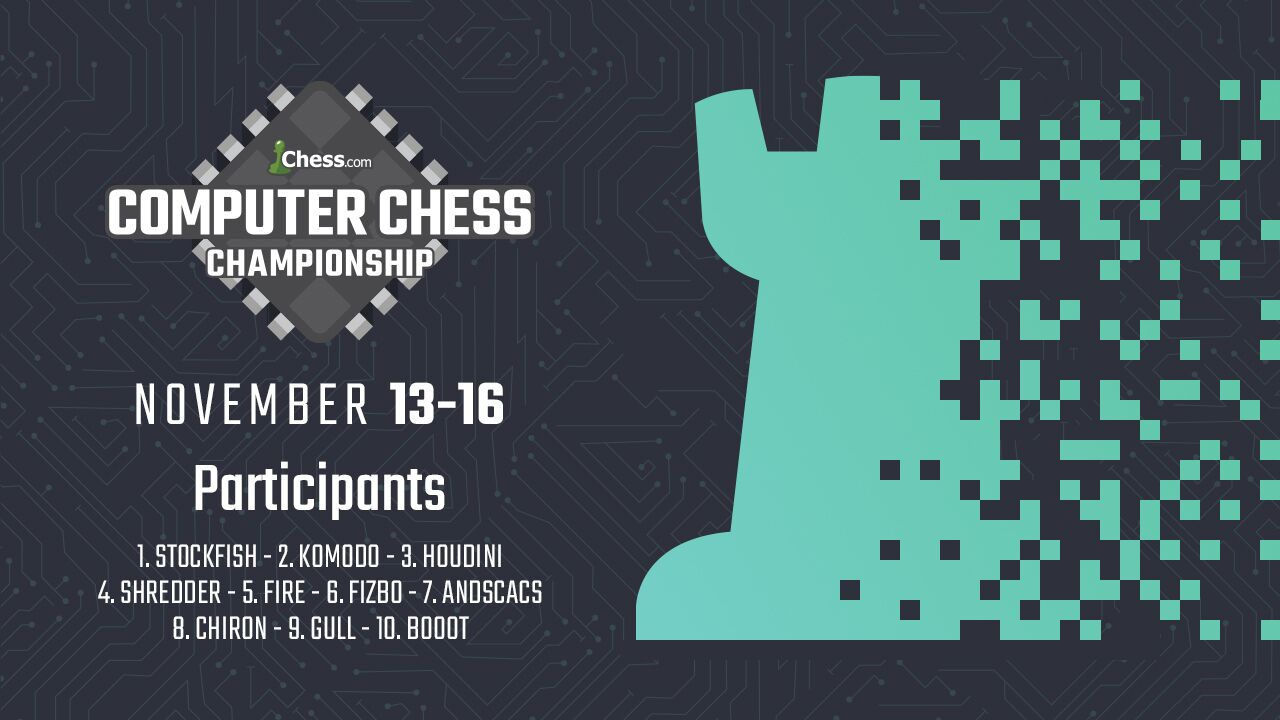 Stockfish Wins Chess com Computer Championship - Chess com