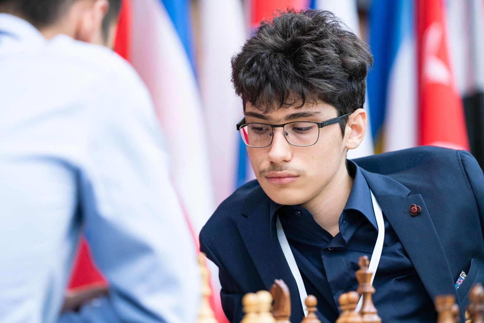 Alireza Firouzja is confirmed to play in the Puzzle Battle Championship. Photo: Maria Emelianova / Chess.com.