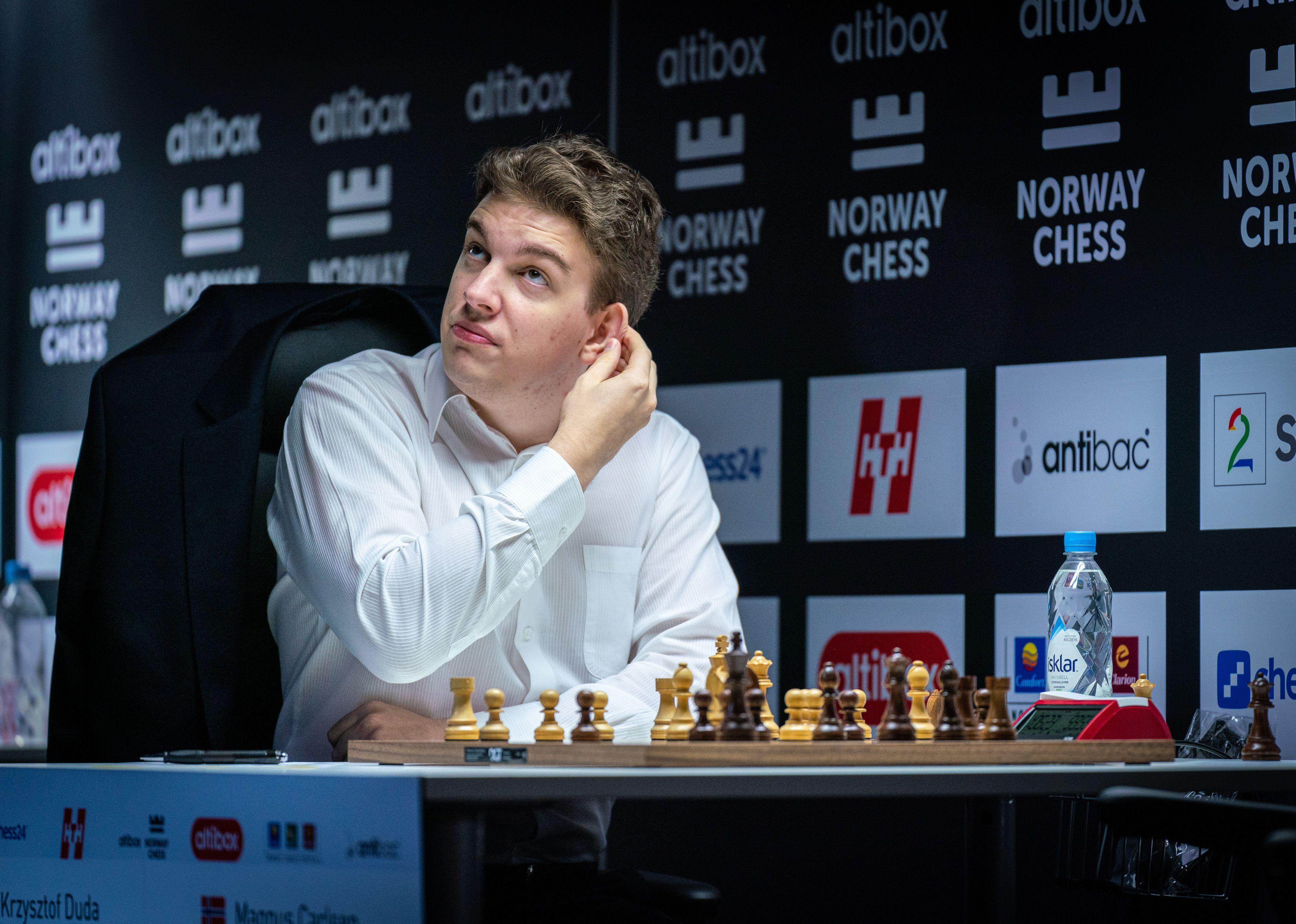 How Carlsen S Blunder To Duda Ended An Amazing Unbeaten Streak Chess Com