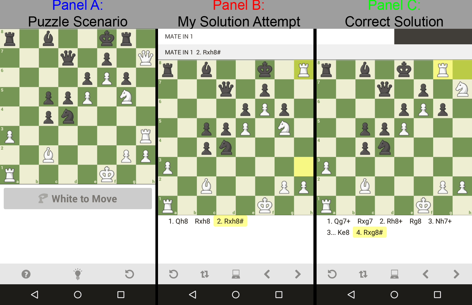 Bad puzzles or tactic solutions - Chess Forums - Chess com