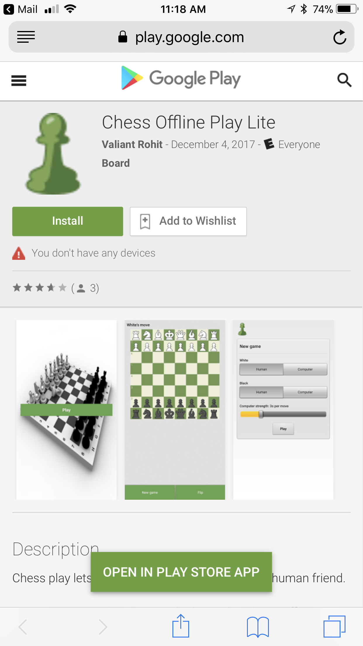 Someone made an app and it looks like they used the Chess