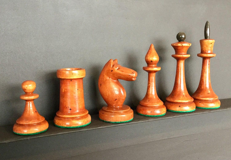 Vintage Chess Mini Chess Soviet Chess