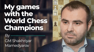 My Games With The World Chess Champions