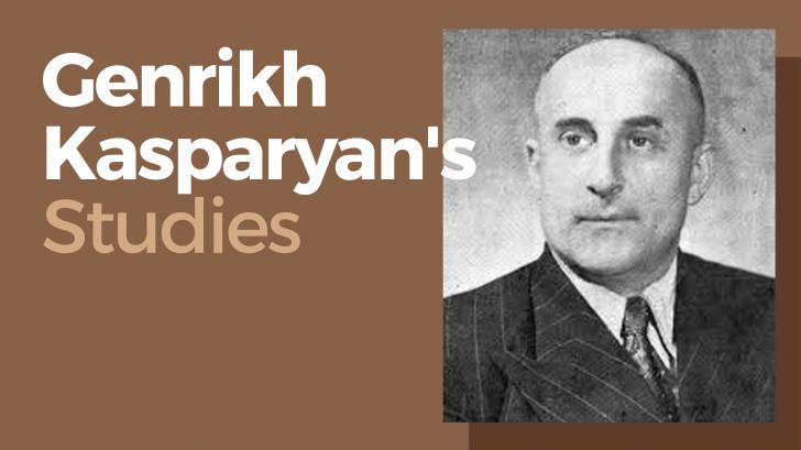 Genrikh Kasparyan's Studies