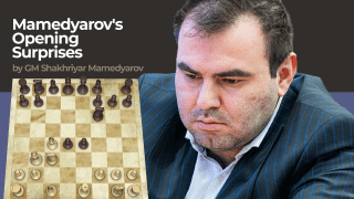 Mamedyarov's Opening Surprises