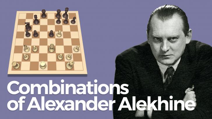 Combinations of Alexander Alekhine