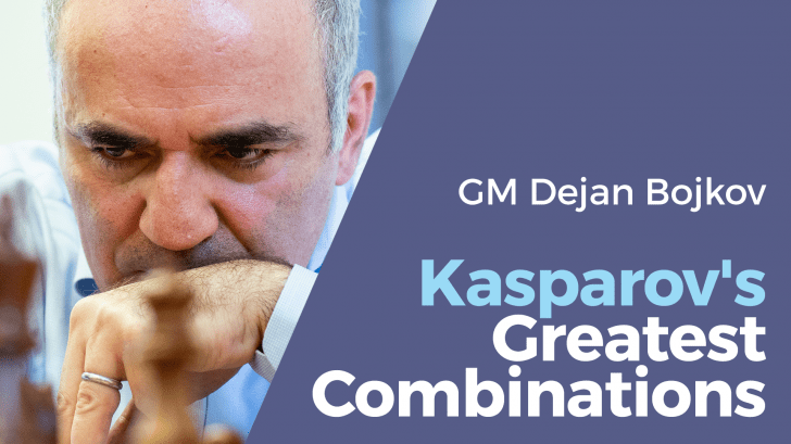 Kasparov's Greatest Combinations