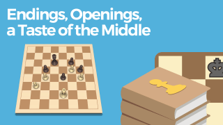Endings, Openings, a Taste of the Middle