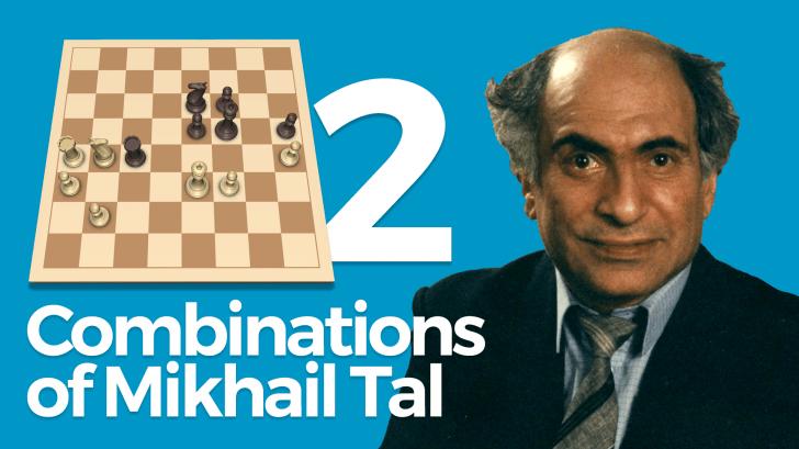 Combinations of Mikhail Tal Part 2