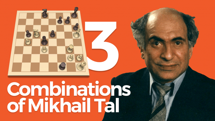 Combinations of Mikhail Tal Part 3