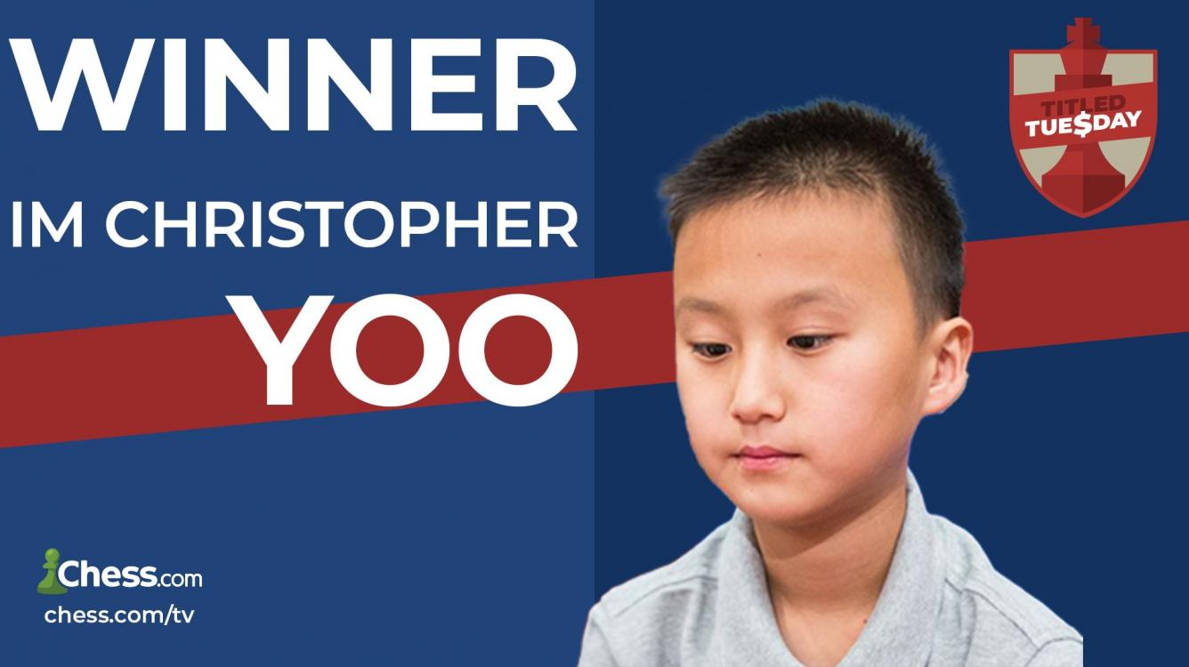 IM Yoo Wins October 5 Titled Tuesday