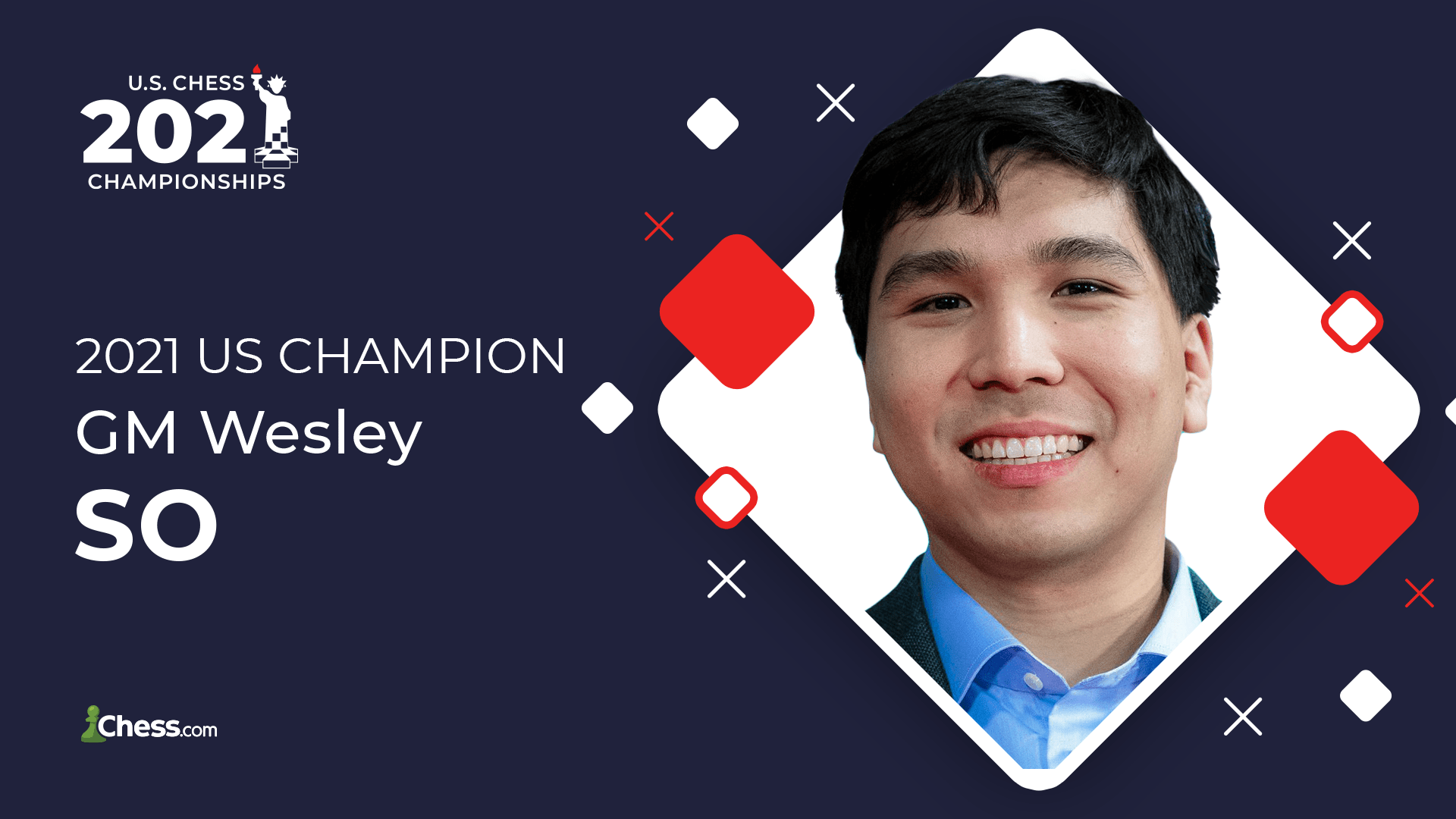 Wesley So Wins 2021 US Chess Championship
