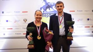 Gunina, Vitiugov Winners At Russian Championships