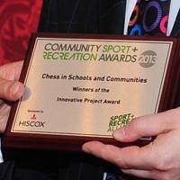 Chess in Schools and Communities Wins Innovative Project Award