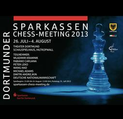Dortmund's 41st Sparkassen Chess Meeting Under Way
