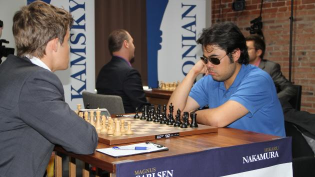 Nakamura Pushes, Draws, Still Leads in St. Louis
