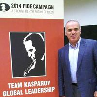 BREAKING: Kasparov Announces Candidacy for FIDE President
