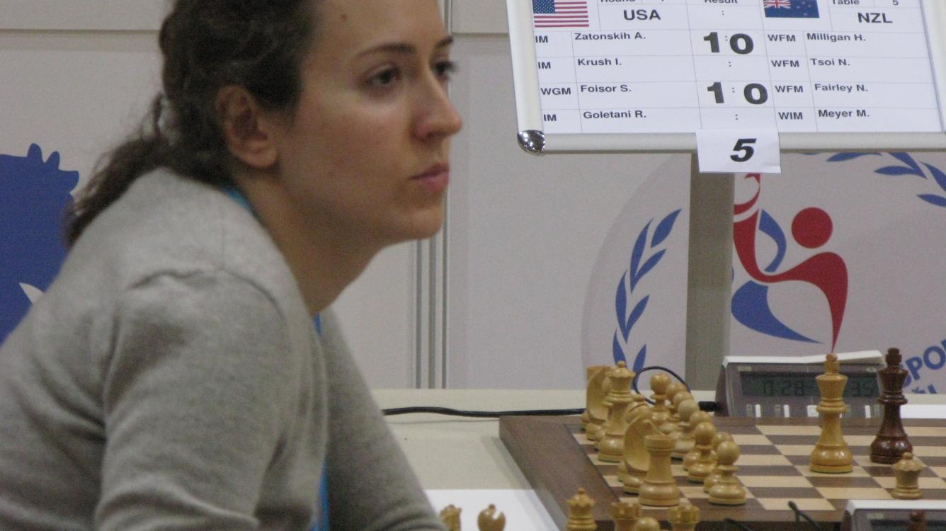 Irina Krush Earns GM Title
