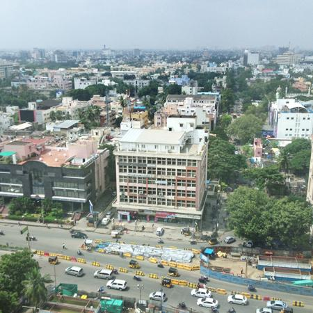 In Chennai! (With First Pics of the Venue!)