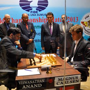 It's on! Carlsen-Anand, Game 1 Drawn - UPDATE: VIDEO