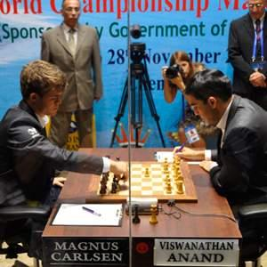 Anand-Carlsen: game 2, a Caro-Kann, drawn in 25 moves - UPDATE: VIDEO