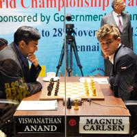 Carlsen Beats Anand in World Championship Game 5 - UPDATE: VIDEO
