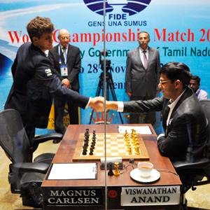 Anand-Carlsen Game 7 Drawn in 32 Moves - UPDATE: VIDEO