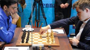 Carlsen-Anand, Game 8, Drawn In 33 Moves - UPDATE: VIDEO's Thumbnail