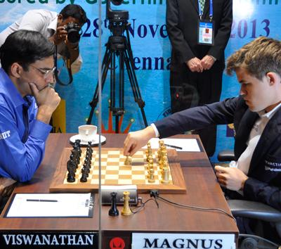 Carlsen-Anand, Game 8, Drawn In 33 Moves - UPDATE: VIDEO