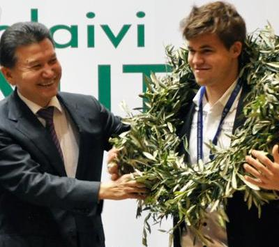 Carlsen Crowned World Champion (After Enjoying Some Football & Basketball)
